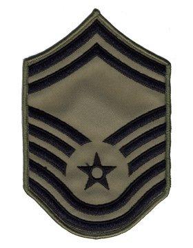 USAF Chevron ABU (Pair) (Large, Senior Master Sergeant)