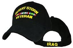 Desert Storm Veteran Direct Embroidered Cap