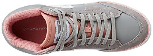 DrunknZapatos munky hembra D-304-BOS zapatillas de deporte de CLAS 16AW Rose gris invierno nueva colección de otoño 2016 2017