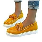 Hemlock Women Flats Shoes Tassel Round Toe Shoes Platform Sandals Thick Bottom Buckle StrapWalking Shoes Sneakers