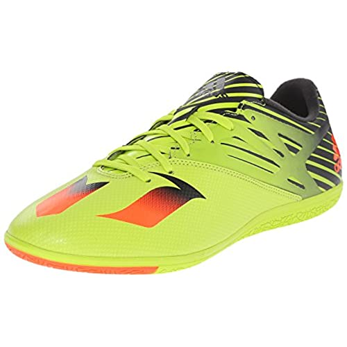 9d9d6985ca58 ... new zealand adidas performance mens messi 15.3 indoor soccer shoesemi  solar slime solar red black9 m