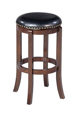 Boraam 33829 Cordova Bar Height Swivel Stool, 29-Inch, Cappuccino
