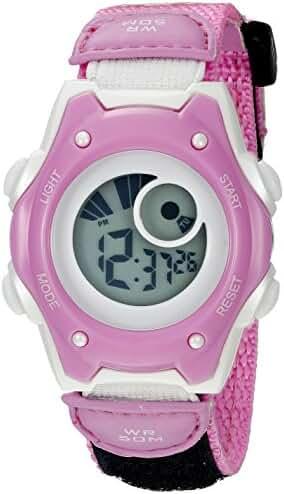 American Design Machine Jr. Kids' ADSG 5003 PNK Hudson Digital Display Quartz Pink Watch