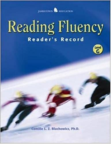 Book Reading Fluency: Reader's Record D by Camille Blachowicz (2003-07-03)