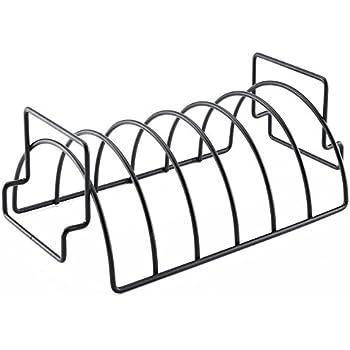 Amazon.com: LVOERTUIG - Soporte para barbacoa de acero ...