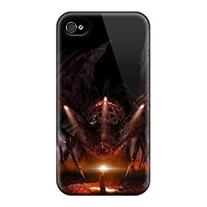 Iphone 6 Hard Back With Bumper Cases Covers Dark Spider