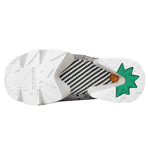 Grau Fury Farbe Instapump Schwarz 0 Grün Reebok V66115 40 Größe SP BSAqX