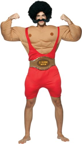 Muscle Man Circus Costume (Strongman Adult Costume - One Size)