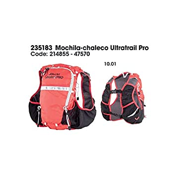Joluvi Chaleco Ultratrail Pro Running 10L con Bolsillos para softflask: Amazon.es: Deportes y aire libre