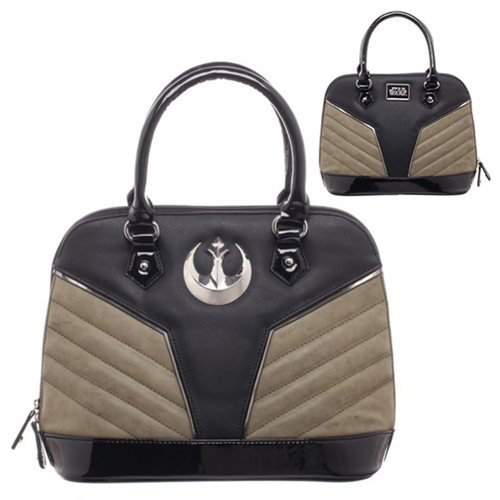 Star Wars Purse (Star Wars Rogue One Rebel Jyn Womens Dome Satchel Purse Handbag)