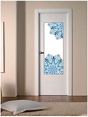 CustomGlass Cristal Decorado para Puertas de Interior Modelo Polten, Incluye instalación en (Comunidad Valenciana): Amazon.es: Hogar