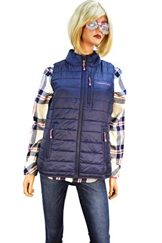 Vineyard Vines Womens Mountain Weekend Vest Nautical Navy (XS) (Men Vineyard Vines Vest)