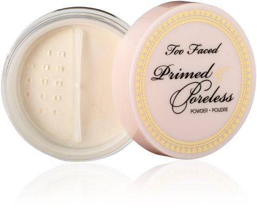 Too Faced Cosmetics amorcée et poudre sans pores, 0,16 once