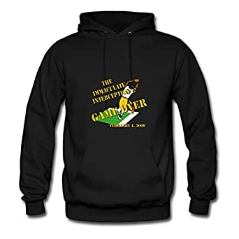 The_immaculate_interception Popular X-large Hoodies Designed For Women Black