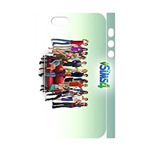 iphone 5 5s Cell Phone Case 3D games The Sims 4 Game NGTS6245336333642