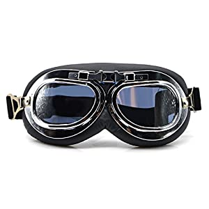 OutFans Costume Glasses Goggles Protective Eye Wear Goggles Face Decoration Goggles for Christmas Eve, Family Gatherings, Birthday Parties, School Cosplay Activities Men and Women