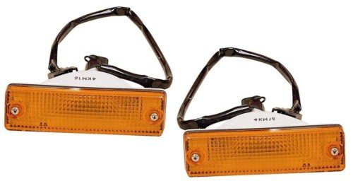 Aftermarket Replacement Left Right Sides Pair Park Signal Side Marker Light for Mazda 1986-1987 626 and 1986-1989 Protege and 1986-1993 Pick Up - Mazda 323 Side Marker