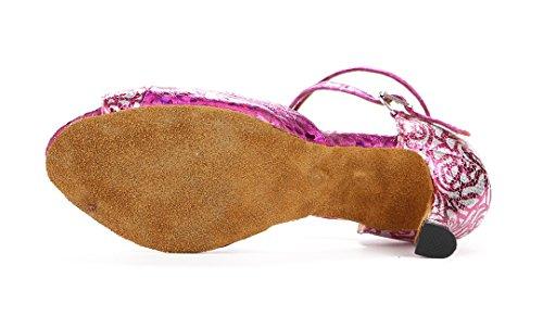 TDA - Zapatos con tacón mujer morado