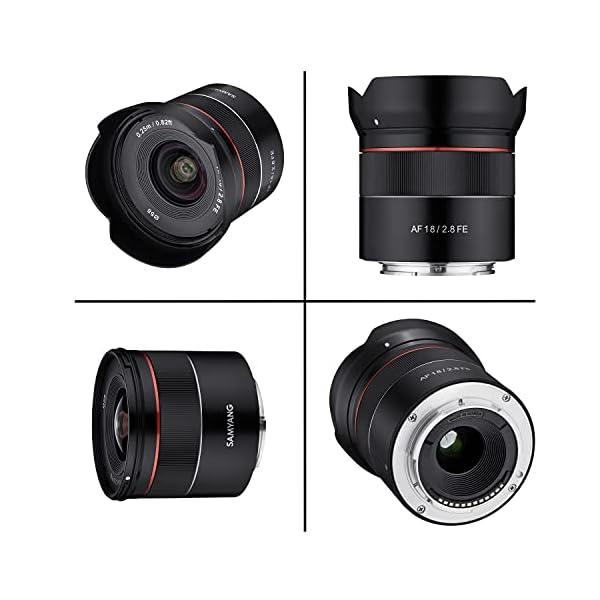 RetinaPix Samyang 18mm F2.8 Sony FE Auto Focus Lens for Full Frame Camera Lens