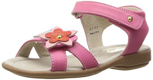 See Kai Run Girls' Avery Sandal, Hot Pink, 8 M US Toddler