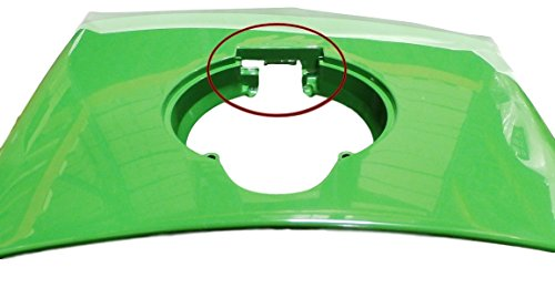 John Deere hood fuel door cowl set 4200 4210 4300 4310 4400 4410 LVU12062FDIC