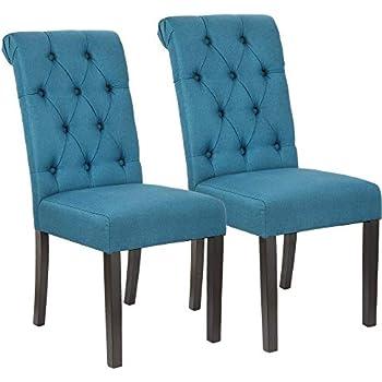 Amazon.com: LSSBOUGHT Elegantes sillas de comedor con patas ...