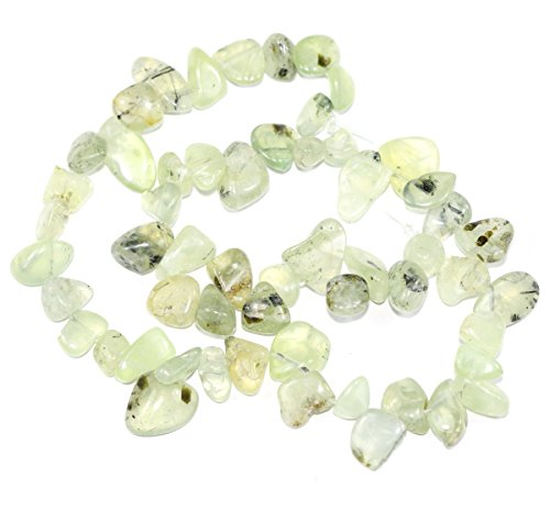 AAA Natural Green Prehnite Gemstones Smooth Teardrop Loose Beads Free-form ~18x10mm beads ( ~16