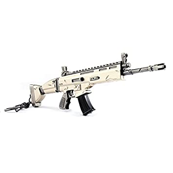Origami Fortnite Scar Fortnite Scar Assault Rifle Weapons 6 8 Inches Toy Metal Model Game Lovers Collection Amazon De Baby