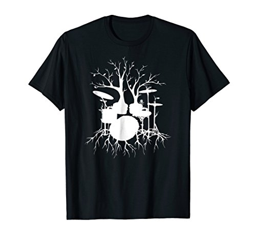 Live the Beat Drum T-Shirt, Drummer Gift for Musician