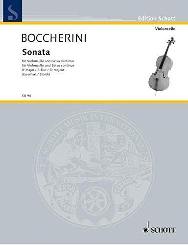 Sonata Bb Major G 12 Violoncelle
