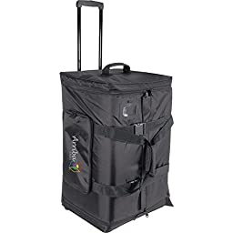 Arriba Cases As-175 Padded Rolling Pro Speaker Transport Bag Dimensions 17.5X15X27.5 Inches