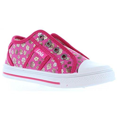 Sneaker für Junge und Mädchen LOIS JEANS 60033 FUXIA