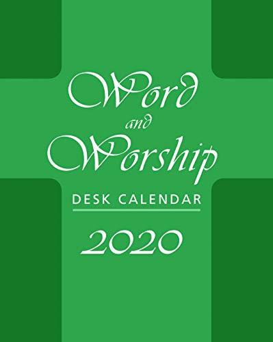 Word and Worship Desk Calendar 2020 ()