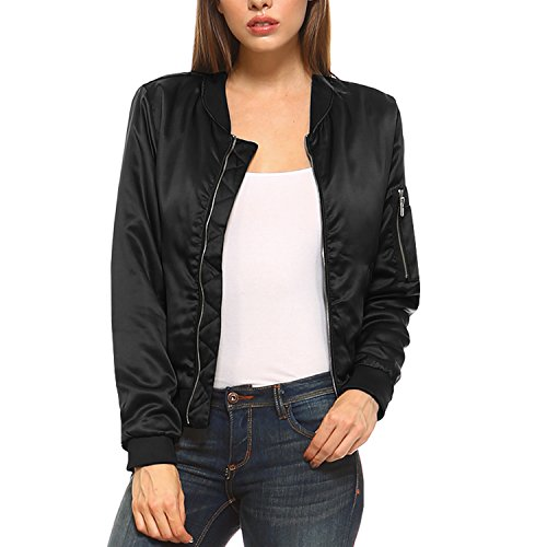 Quilted Satin Jacket - 4