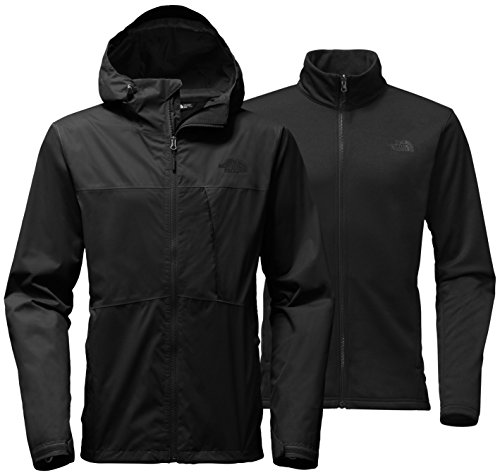 The North Face Men's Arrowood Triclimate Jacket - Tall - TNF Black - ()