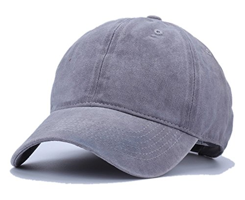 [Unisex Vintage Washed Dyed Cotton Twill Baseball Cap Trucker Hat for Women Men UV Protection Travel Beach Sun Visor Hat Camping Fishing Golf Sports Adjustable Snapback Solid Baseball Hip Hop Flat] (Hip Hop Felt Hat With Feather)