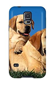 Pretty SqSJIIv4331VBhtJ Galaxy S5 Case Cover/ Yellow Labradors Series High Quality Case