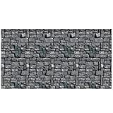 Beistle Stone Wall Backdrop Party Accessory | 4-Feet by 30-Feet | (1-Count)