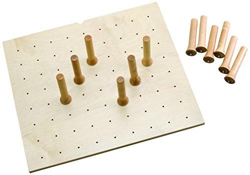 (Rev-A-Shelf 24 x 21 Wood Peg Board Drawer Organizers, Natural)