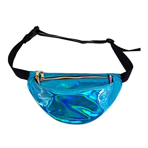 Mily Hologram Fanny Pack Waterproof Transparent Beach Waist