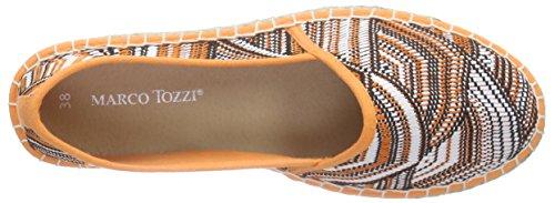 24203 608 Tozzi Marco Comb Frauen Espadrilles Orange Orange 5w8x7q4p