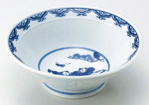 DRAGONFLY-KARAKO 8.5inches Noodle bowlJiki Japanese Original Porcelain by Watou.asia