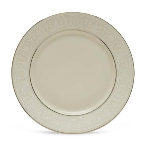 (Lenox Courtyard Platinum Ivory China Butter Plate)