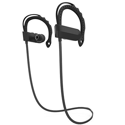 LanBaiLan Wireless HeadphonesPremium Sound with Bass Noise Cancelling Ergonomic Design Secure Fit 7 Hrs Playtime with Mic