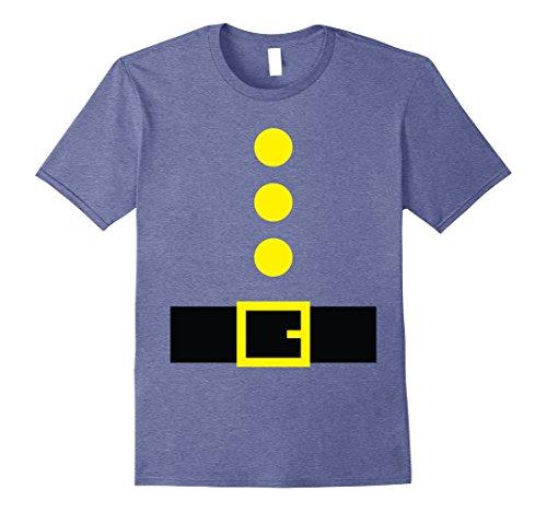 [Mens Halloween Dwarf Theme Party Costume Shirts Kindergarten Team Large Heather Blue] (Statue Halloween Costume Ideas)