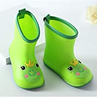 villeur Children Rain Boots Baby Infant 1-6 Years Old Water Rubber Shoes Rain Boots