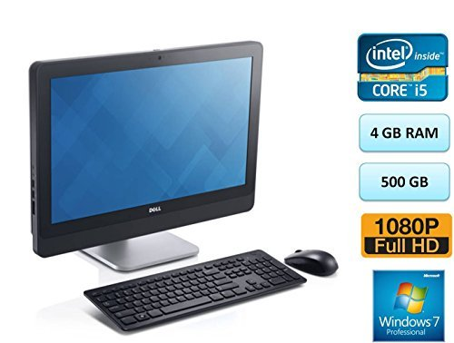 Price comparison product image Dell Optiplex 9020 23 Inch WLED Full HD 1080p with Camera All-in-one AIO 4GB RAM 500GB HDD Windows 7 Professional Dell 3 Yr Warranty