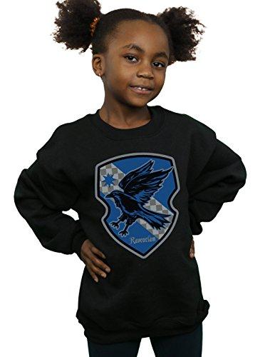 Potter Sweat Crest Ravenclaw shirt Fille Noir Flat Harry gqw8TB8