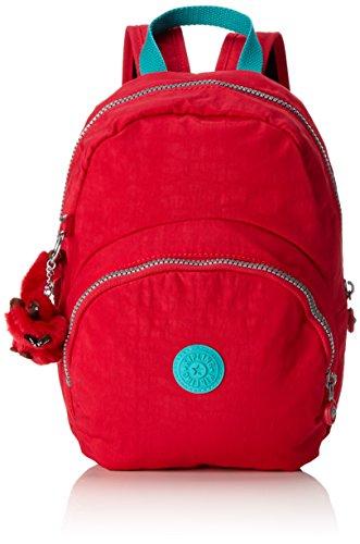 Kipling Women's Nylon Backpack (Pink Ruby G55) (Backpack Kipling Red)