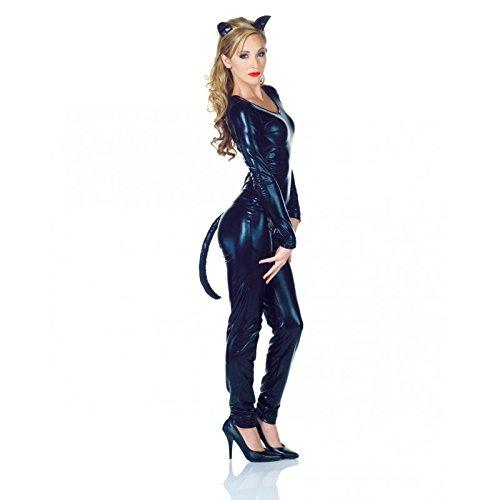 [Underwraps Women's Cat Ear Set Vinyl, Black, One Size] (Last Minute Halloween Costumes Ideas For Adults)
